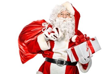 le Père Noel aux Halles de Cholet
